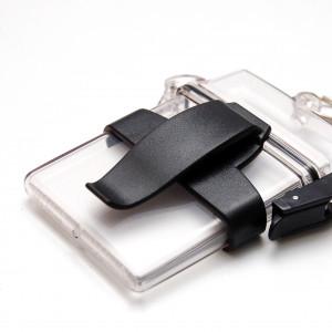 Clip ceinture porte-badges Clearbox