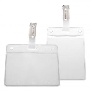 IDS46 : porte-badge prêt à l'emploi avec clip