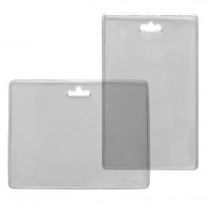 Durchsichtige Kartenhülle aus PVC - IDS36.1
