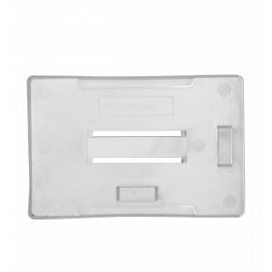 Offener Kartenhalter aus Hart-Kunststoff für mehrere Karten - Hoch- oder Querformat - IDP91