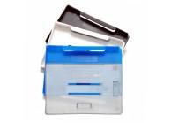 Offener Kartenhalter aus Hart-Kunststoff für mehrere Karten - IDP91
