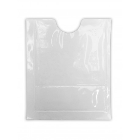 Adhesive pouch for car insurance ticket