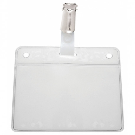 IDS46 : Professional soft badge holder - ready to use (per 25)