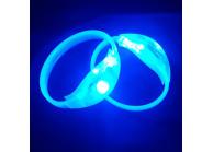 Geräusch aktivierte Leuchtarmbänder