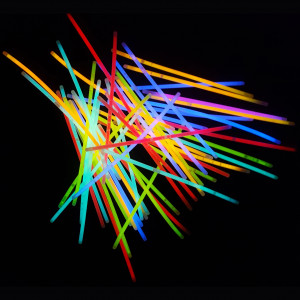 Bracelet / bâton fluorescent (glow sticks)