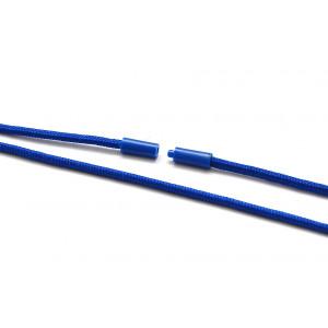 Tour de cou sécurisé rond 4mm avec mousqueton métal