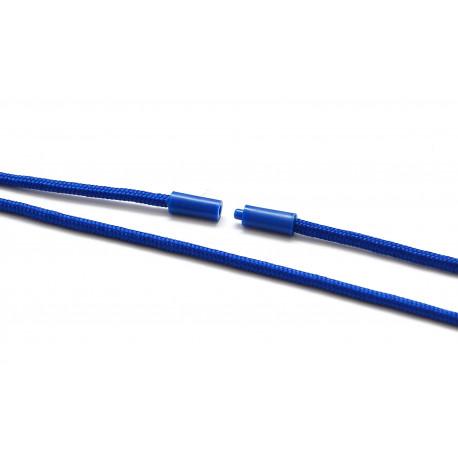 Rundes Lanyard mit Metall-Simplexhaken und Sicherheitsverschluss