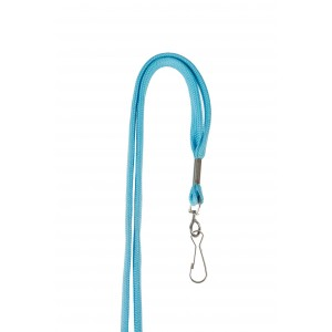 12 mm tube polyester lanyard with swivel hook