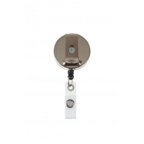 IDS92 : Enrouleur métal pour porte badge avec lanière renforcée