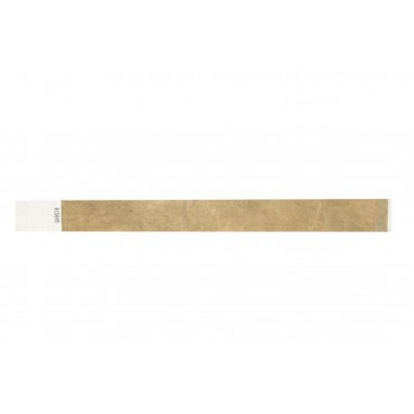 Bracelets papier Tyvek 25mm indéchirable (par 100)