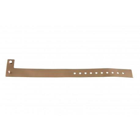 Bracelets événementiels plastique vinyle Type L - Métal