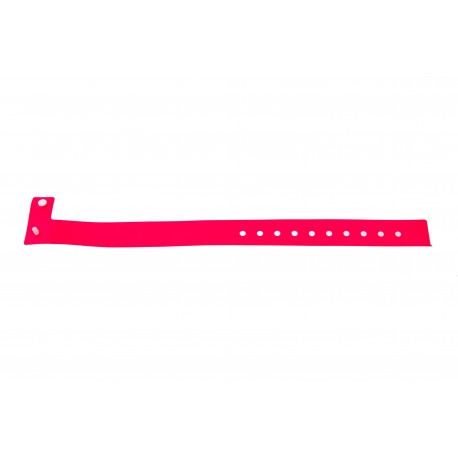 Vinyl plastic event wristbands L type - Matt