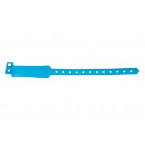 Plastic vinyl event wristbands Wide-face type - Matt