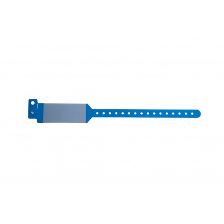 Bracelet hôpital avec rabat pour étiquette – modèle adulte