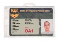 Porte-badge verrouillable ou à fermeture définitive IDS76+