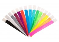 25mm Tyvek event wristbands (pack of 100)