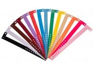Vinyl Kontrollarmbänder - Matt