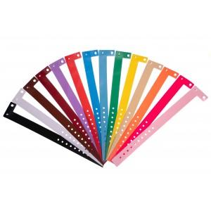 Bracelets événementiels plastique vinyle Type L - Mat