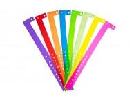 Bracelets événementiels plastique vinyle Type L - Brillant