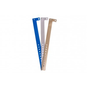 Vinyl Kontrollarmbänder - Metallisch