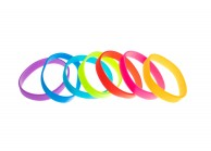 Bracelets Silicone sans marquage - taille Adulte