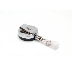 IDS92 : Metal case reel with nylon cord and reinforced strap