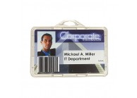Totally eco-frienfly safe badge holder - IDS90-ECO