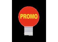 Promo badge + cristal fixing clip