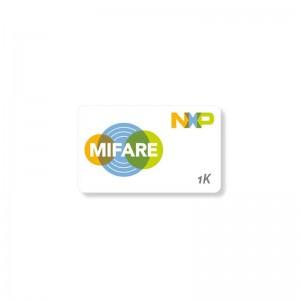 Packung mit 100 PVC-Karten, weiß, MIFARE® Classic