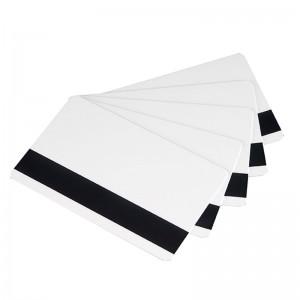 Lot de 500 cartes à imprimer PVC Blanches avec piste magnétique HICO