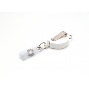 Kunststoff-Jojo mit Ansteckclip und Schlüsselring - IDS960