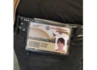 IDS60H : Soft vinyl magnetic badge holder - Landscape