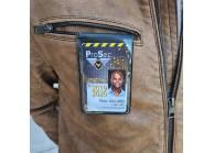 IDS60V : Soft vinyl magnetic badge holder - Portrait