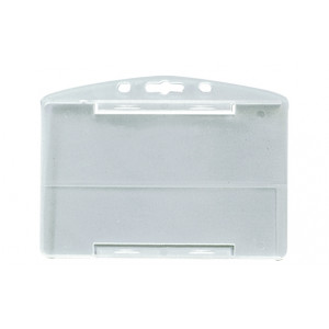 IDP65 : Porte-badge translucide en polypropylène