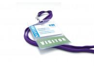 Weicher Kartenhalter für Karten und Etikette