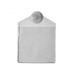 IDS74 : Porte-badge véhicule à ventouse