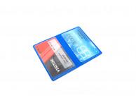 IDP52 - Protège-cartes souple 2 poches