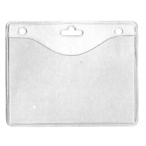 Verstärkte Kartenhülle aus weichem PVC - IDS34