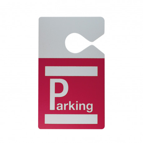IDS75 : Badge parking avec accroche rétroviseur
