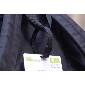 IDS97 : Molded PVC luggage strap