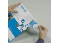 IDC49 : Adhesive vinyl card holder