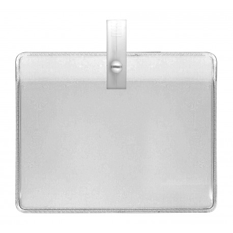 IDS44 : Special events soft badge holder with round pre-punched hole