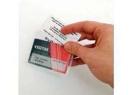 Weiche Kartenhülle für 2 Karten - IDS38