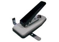 Oblong hole punch tool