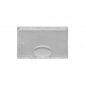 IDS55 : Etui-carte cristal / dépoli