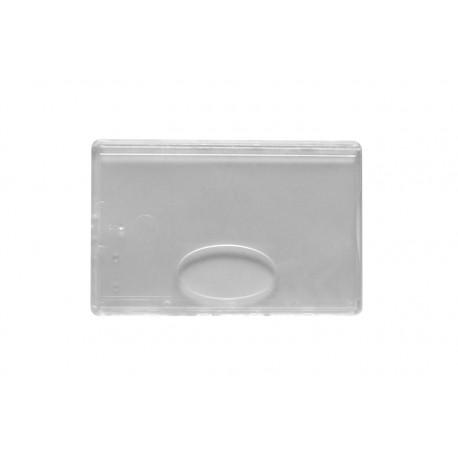 Durchsichtige Kartenhülle aus Harte-Kunststoff - IDS55