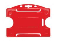 Offener Kartenhalter aus Hart-Kunststoff, für 1 Karte (Querformat)- IDP64