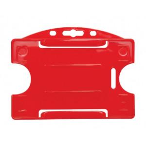 IDP64 : Porte-badge pour 1 carte - Modèle horizontal