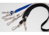 Schlüsselband Lanyard mit 2 Metall-Simplexhaken
