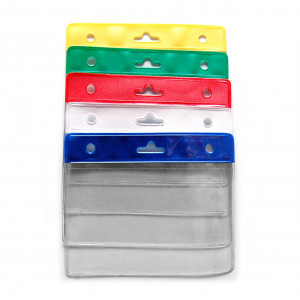 IDS35 : Badge holder with reinforced color top